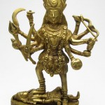 ▲カーリー女神(真鍮製)