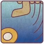 ◆13の月の暦.マヤ暦/KIN187.青い倍音の手
