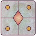 ◆13の月の暦.マヤ暦/KIN188.黄色い律動の星