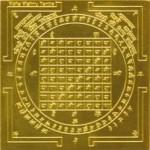 ▲マハーヴィシュヌ・ヤントラ(スピリチュアル・インド密教図形)