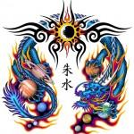 水気を司る四竜(四海竜王)による魂の潤いと若返り