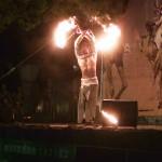 一番感動したファイヤーダンス、やっぱり炎だよね!←インド祭ディワリ・イン・ヨコハマ