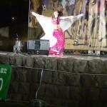一番ボリウッドダンス(ボリウッドワークアウト)が上手かった人!CoCo鮎美さん←インド祭ディワリ・イン・ヨコハマ