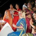 ボリウッドダンス(ボリウッドワークアウト)を全員で!板倉リサさん他←インド祭ディワリ・イン・ヨコハマ