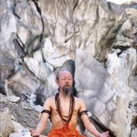 ヨーガ行者の王「アーカーシャ・ギリ」が梵我蓮に来られました