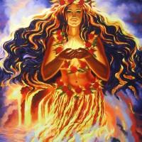 ★【伝授】ハワイの火の女神ペレ【ディヴァイン・リンク】