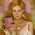 「高位のアセンデッドマスターであり、愛をもって人々を導く存在」レディナダ。